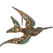 Bird in Flight Pin by Art Mode