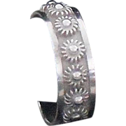 Mexico Sterling Ring - size 8.5