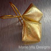 Puffed Diamonds-18k Gold Vermeil Everyday Earrings