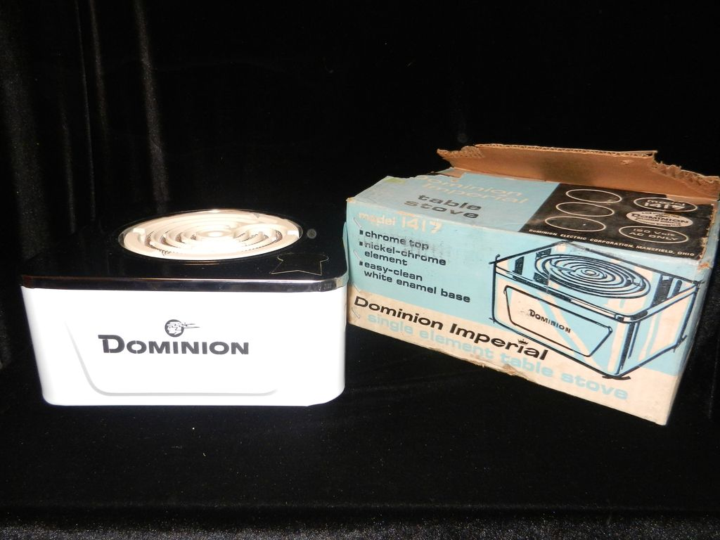 Vintage Dominion Imperial Hot Plate
