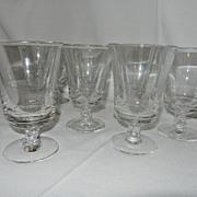 Vintage Fostoria Century Wine Glasses