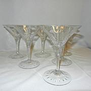 Vintage Cambridge Lexington Champagne Glasses
