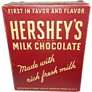 Vintage Hershey's Store Counter Display Box