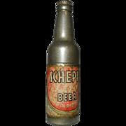Vintage Kem Company Advertising Pocket Lighter for Schepps Beer of Dallas, Texas