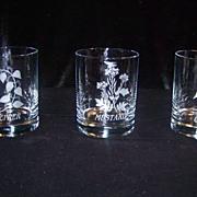 McCormick Spice Company Old Fashion Glasses