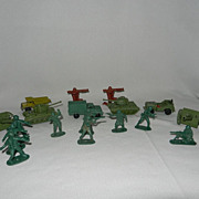 Vintage toy Soldiers and Equipment- Hong Kong