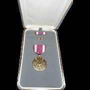 Vintage Meritorious Service Medal