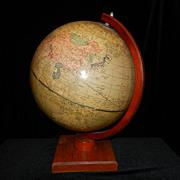 Vintage Cram's 12 inch Universal Terrestrial Globe -1949-52