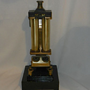 """SOLD Vintage Tag-Robinson Colorimeter -Oil Engineering Instrument 1920""""s - Red Tag Sale Item"""
