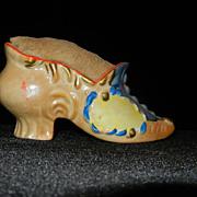 Vintage Made in Japan Shoe Pin Cushion