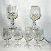 Vintage Bohemia Interactive Crystal Belfast Water Glass