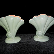 Red Wing Shell Flower #899 Vases