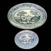 Vintage 1971 Daher Decorated Ware Tin Trays