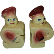 Vintage Shawnee Chef Salt and Pepper Shakers