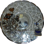 Vintage Silver City Flanders Pattern on Constellation Sandwich Plate