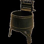 Vintage EMIG Cast Iron Washing Machine Planter