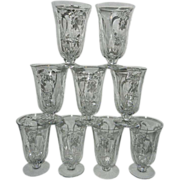 Vintage Duncan & Miller Chantilly Iced Tea Glass Pattern 5115