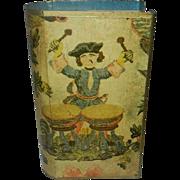 Vintage Drummer Boy Match Box Cover