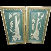 Vintage Illinois Moulding Company Mid Century Ceramic Wall Art