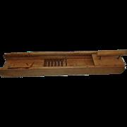 Vintage Wood Catawissa Vegetable Slicer 1898