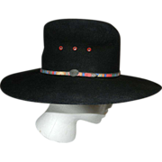 Vintage Bailey Laramie Style Wool Western Cowboy Hat