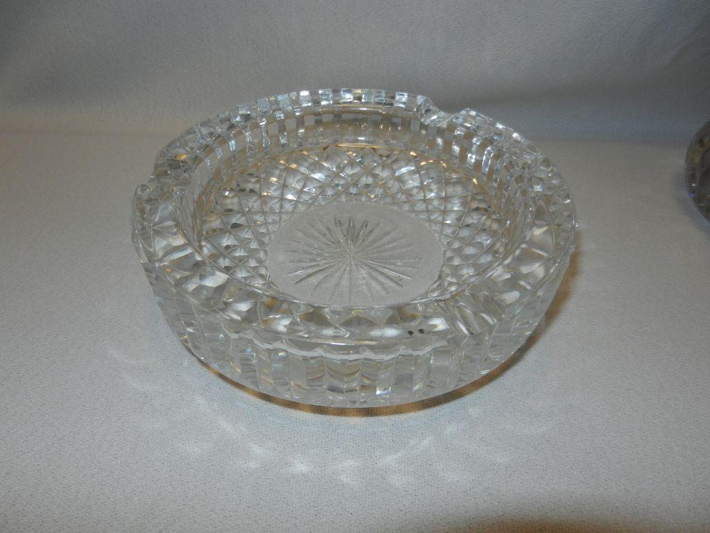 Vintage Waterford Crystal Ashtray From Mygrandmotherhadone