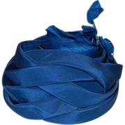 Vintage Chapeaux Yvonne of Beverly Hills Blue Hat