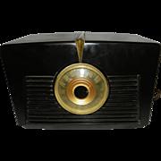 SOLD Vintage RCA Table Radio Model 8X541 Art Deco Style Circa 1947-48