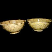 Vintage Texas- Ware Splatter or Confetti Ware Bowls
