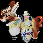 Vintage Donkey Condiment Set