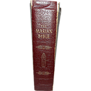 SOLD Vintage 1954 Marian Bible The Family Rosary Edition John P. O'Connell