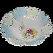 Vintage Hand Painted Porcelain Bowl