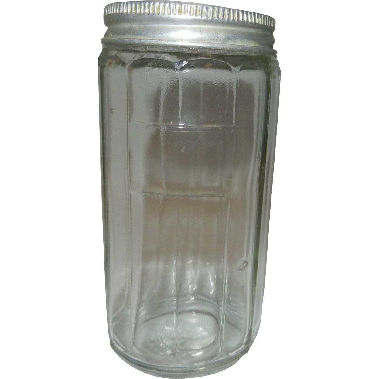 Kitchen Hoosier Cabinet Vintage Hoosier Cabinet Glass Spice Jar From