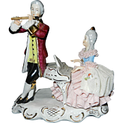 Vintage Karl-Heinz Klette Musical Couple Figurine- Germany