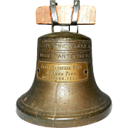 Vintage Liberty Bell Bank by Bankers S&C System Co. of Cleveland, Ohio