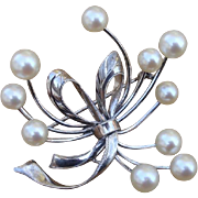 """SALE PENDING VALENTINES SPECIAL ! Exquisite LARGE 1.9"""" Akoya Cultured Pearl & Fine .950 S"""