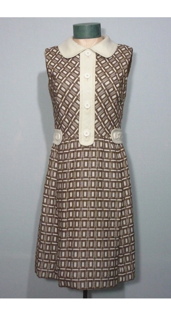 Vintage 1960s  Shannon Rodgers For Jerry Silverman That Girl Dress
