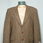 Vintage 1970s Coat Tails Milnburn Tweed Sport Coat