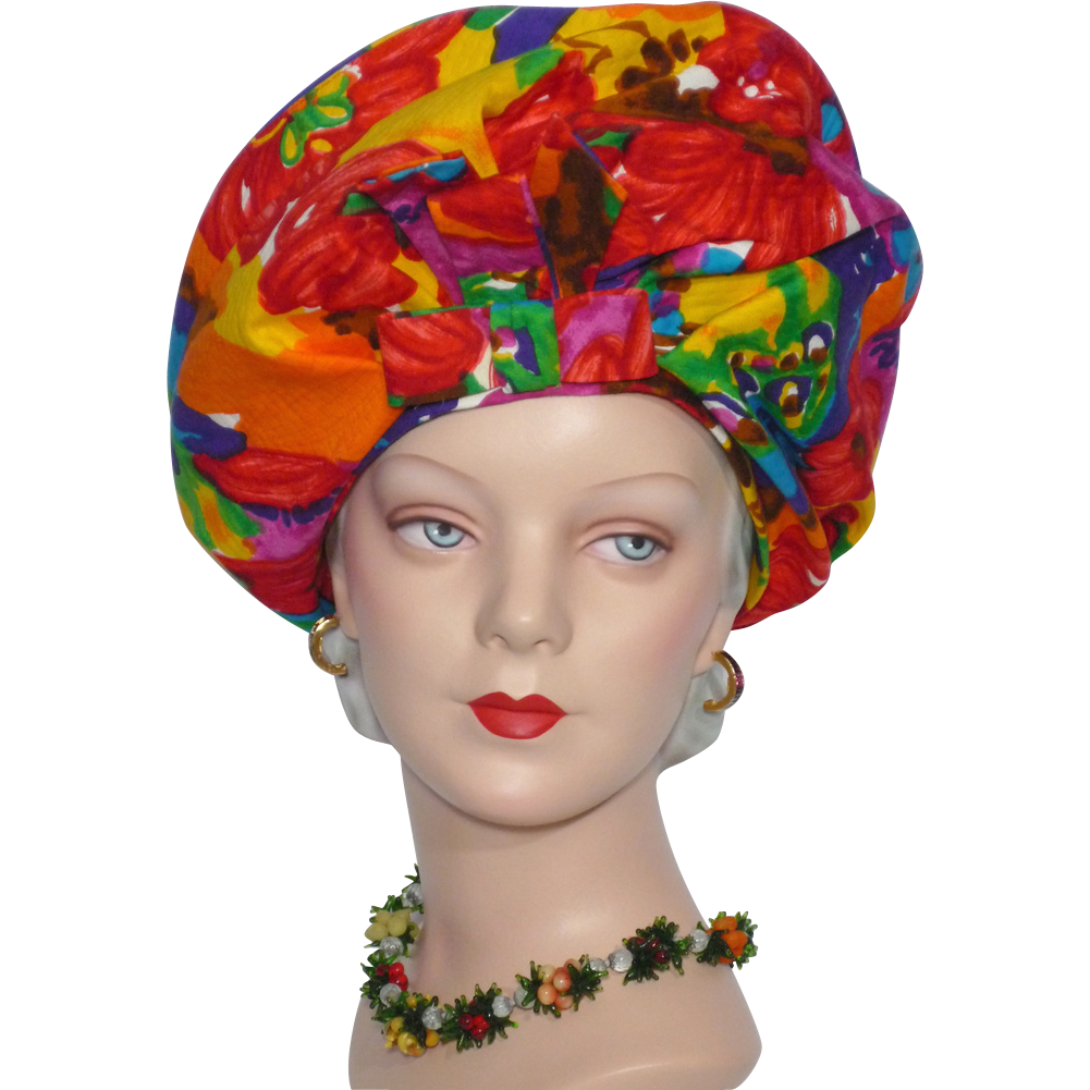 Tropical Flowers Png Tropical Flower Halo Beret