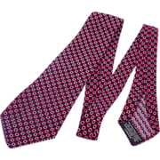 Vintage 1930s Harrods London Silk Tie