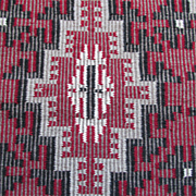 Rare Woven Twill Pattern Navajo Native American Indian Rug