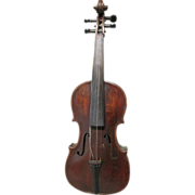 SOLD Nice Antique Violin with Lovely Grained Wood