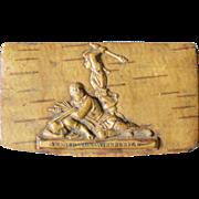 Antique Masonic, Swiss Snuff Box, Arnold von Winkelried