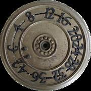 Antique Architectural Elevator, Floor Indicator, Dial