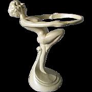 c1920s Art Deco Nude Lady Tray by Frankart