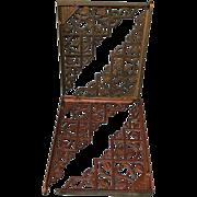 4 Matching c1880 Victorian Aesthetic Architectural Shelf Brackets