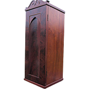Lovely Antique Gothic Chimney Cupboard with Arched Door
