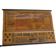 c1843 Phelps & Ensign's Traveller's Guide Map of the United States
