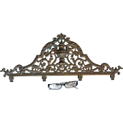 19thC French Victorian Bronze Architectural Element
