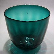 SOLD Emerald Glass Bowl